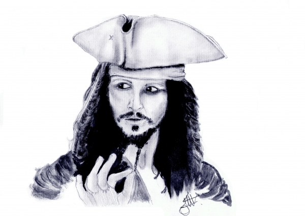Johnny Depp by Judy